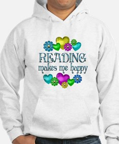 Reading Happiness Jumper Hoody
