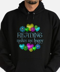 Reading Happiness Hoodie (dark)