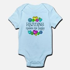 Reading Happiness Infant Bodysuit
