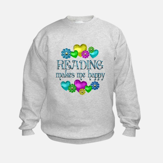 Reading Happiness Sweatshirt
