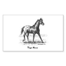 Tiger Horse Decal