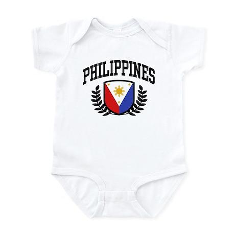 Philippines Flag Infant Bodysuit