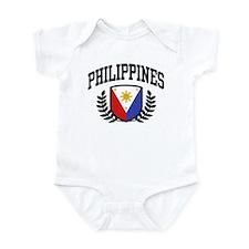 Philippines Flag Onesie