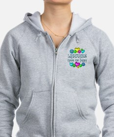 Library Happiness Zip Hoodie