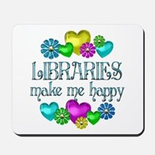 Library Happiness Mousepad