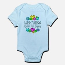 Library Happiness Infant Bodysuit