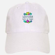 Library Happiness Baseball Baseball Cap