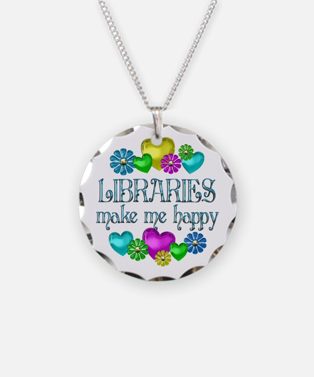 Library Happiness Necklace