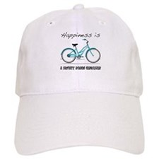 Happiness is a Beach Cruiser Baseball Cap