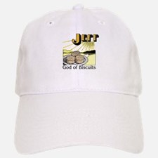 Jeff, God of Biscuits Baseball Baseball Cap