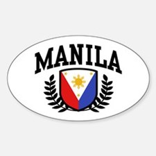 Manila Philippines Decal
