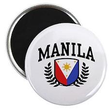Manila Philippines Magnet