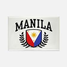 Manila Philippines Rectangle Magnet