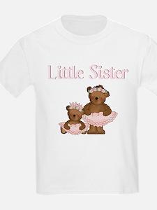 Little Sister Ballet Bear T-Shirt