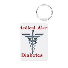 Diabetes Medical Alert Rod of Keychains
