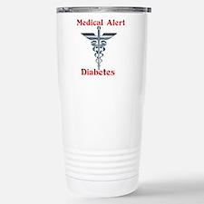 Diabetes Medical Alert Rod of Travel Mug