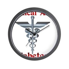 Diabetes Medical Alert Rod of Wall Clock