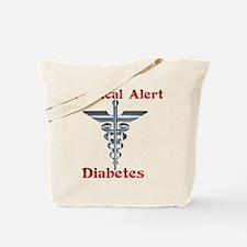 Diabetes Medical Alert Rod of Tote Bag