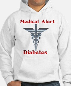 Diabetes Medical Alert Rod of Hoodie