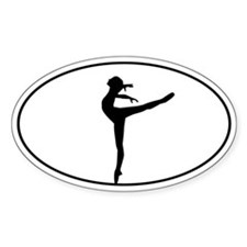 Beautiful Dance Figure Decal
