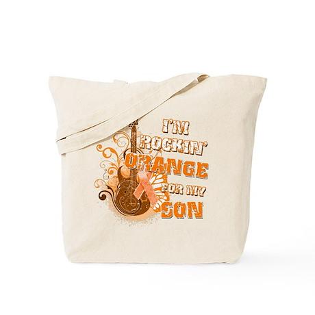 I'm Rockin' Orange for my Son Tote Bag