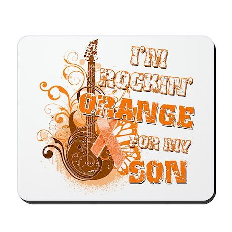 I'm Rockin' Orange for my Son Mousepad