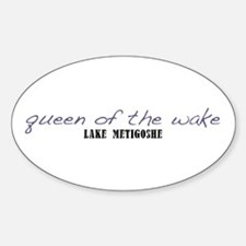 Queen of the Wake Sticker (Oval)