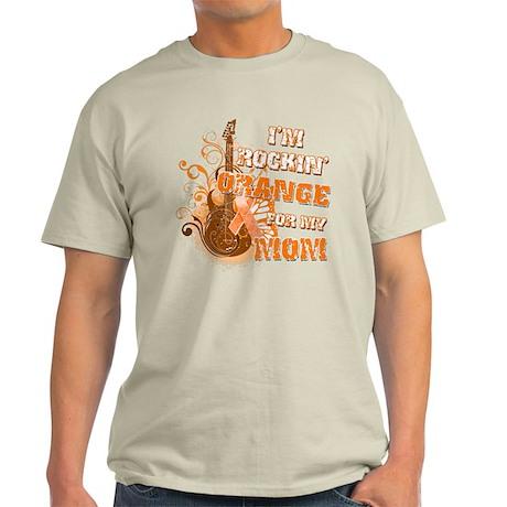 I'm Rockin' Orange for my Mom Light T-Shirt