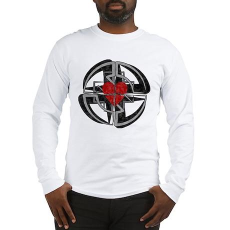 Ruptured Heart Long Sleeve T-Shirt