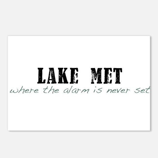 Lake Met Alarm Postcards (Package of 8)