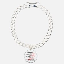 Blood Sweat Diamonds Navy Wife Bracelet