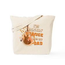 I'm Rockin' Orange for my Dad Tote Bag