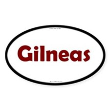 Gilneas Red Server Oval Decal