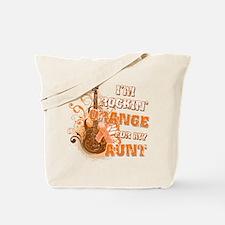 I'm Rockin' Orange for my Aunt Tote Bag