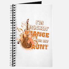 I'm Rockin' Orange for my Aunt Journal