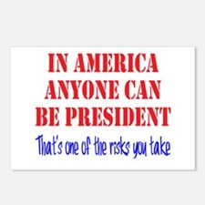 American President Postcards (Package of 8)