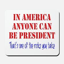 American President Mousepad