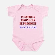 American President Infant Bodysuit