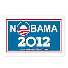 NoBama 2012 No Hope Postcards (Package of 8)