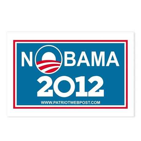 NoBama 2012 No Hope Postcards (Package of 8)