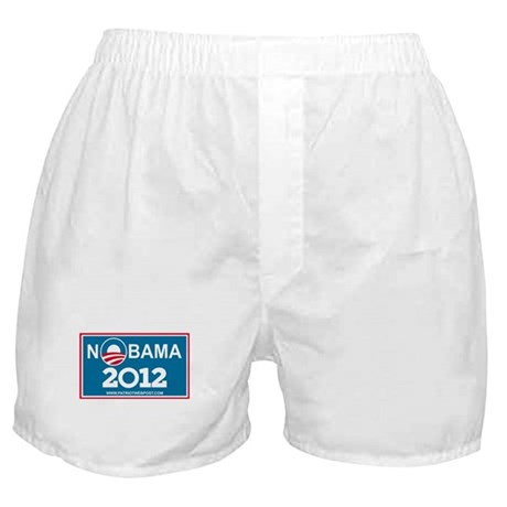 NoBama 2012 No Hope Boxer Shorts