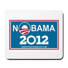 NoBama 2012 No Hope Mousepad