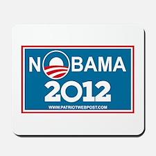NoBama 2012 No Hope Mousepad
