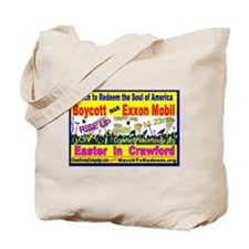 BOYCOTT - EXXON MOBIL - NOW Tote Bag