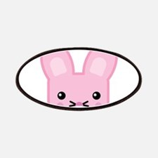 Kawaii Pink Easter Bunny Patches