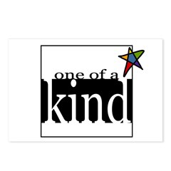 One of a Kind (star) Postcards (Package of 8)