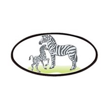 Mommy and Baby Zebra Patches
