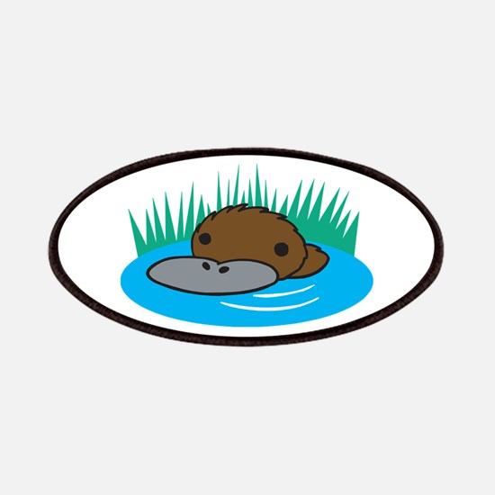 Silly Platypus in the Water Patches