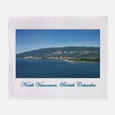N Vancouver BC Throw Blanket