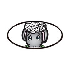 Cute Black Face Sheep Patches